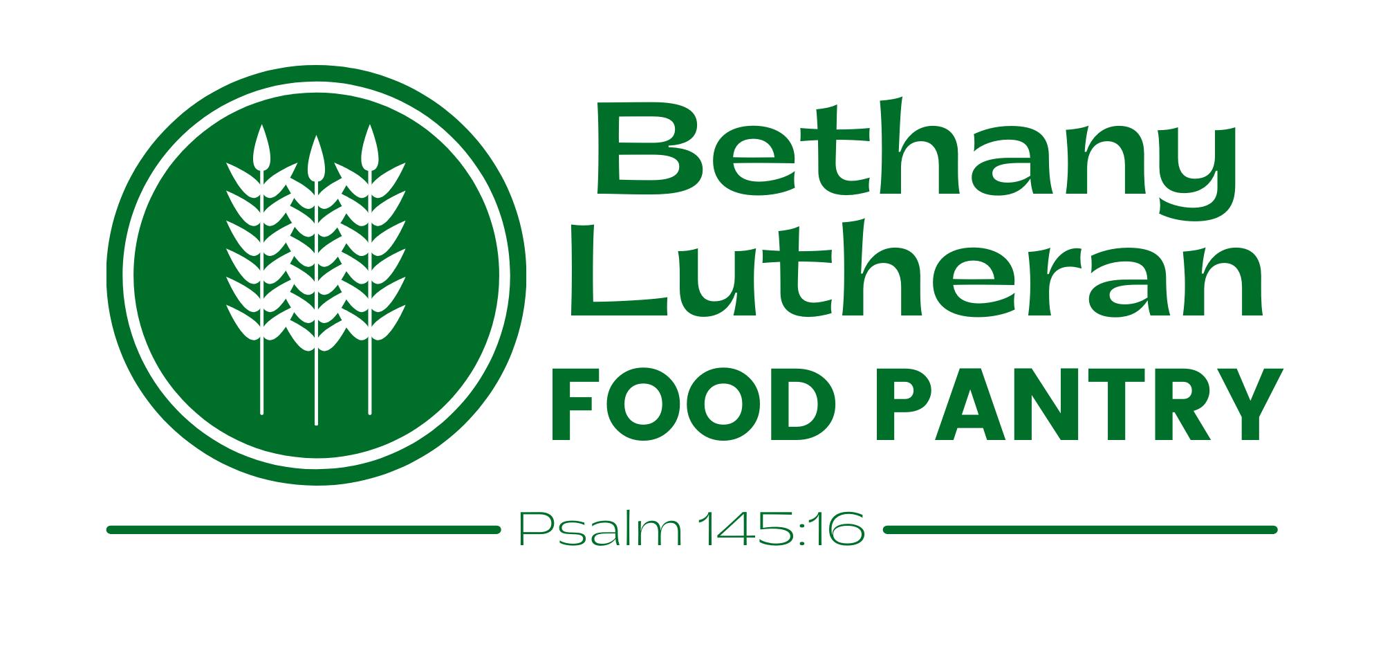 Food pantry logo Psalm 145